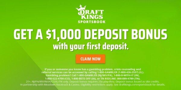 DraftKings Sportsbook bonus offer Indiana