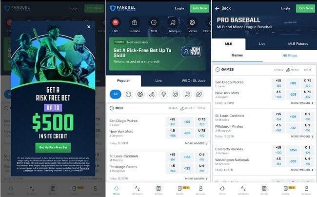 FanDuel Indiana Sportsbook app