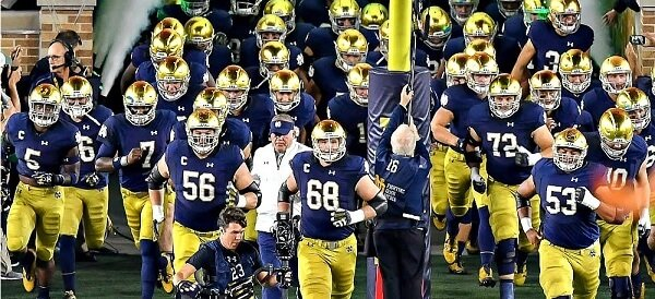 Indiana's Notre Dame Fighting Irish