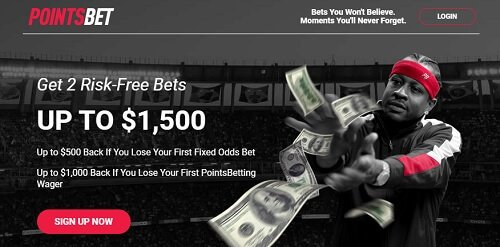 PointsBet risk free bonus