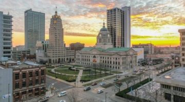 Fort Wayne in Indiana