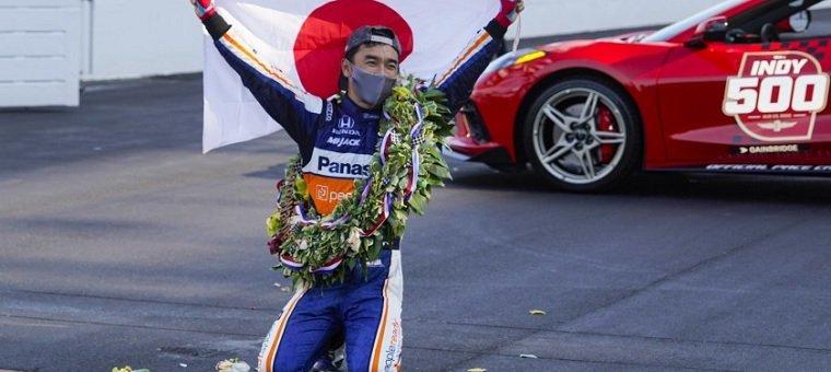 Indy 500 2020 winner