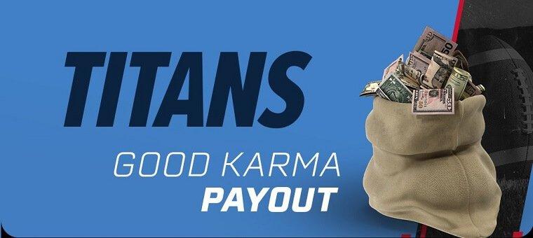 PointsBet Good Karma Payout