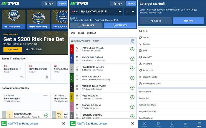 TVG app