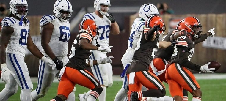 Colts Cleveland Browns