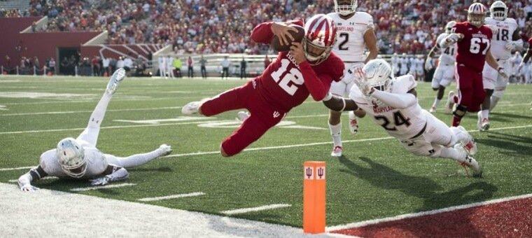 Hoosiers touchdown
