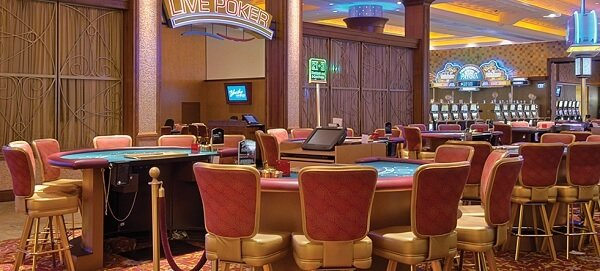 Blue Chip Casino poker room, Indiana