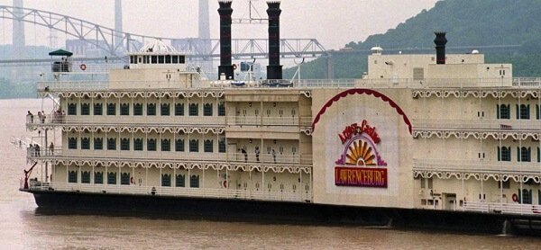 Riverboat casinos in Indiana