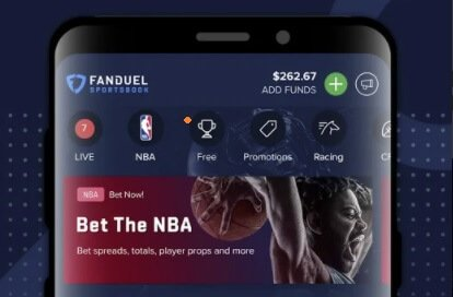 Add funds FanDuel betting account