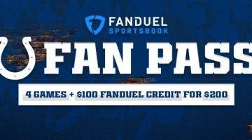 Colts FanDuel ticket promotion