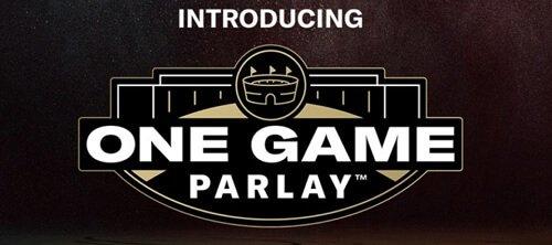 BetMGM one game Parlay