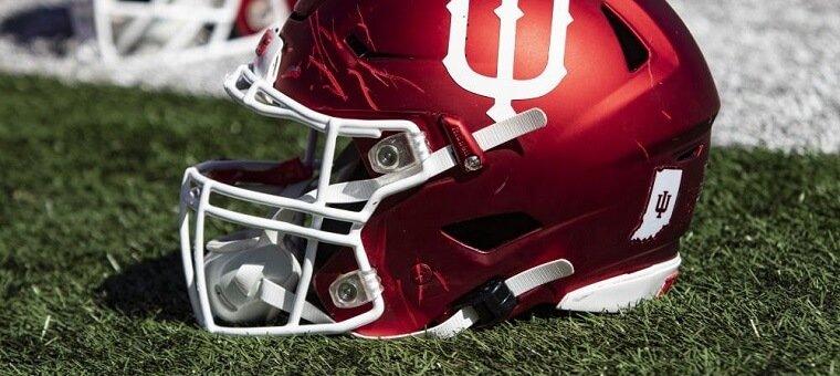 Indiana Hoosiers football helmet